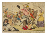 The Genius of France Extirpating Despotism Tyranny and Opression (...) Prints by Isaac Cruikshank