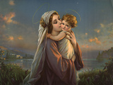 Mater Dulce (Mary and Child) Print