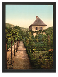 "Rousseau's Childhood Country House ""Les Charmettes"" Giclee Print"