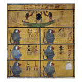 Excerpt from the Amduat, Tomb Prints