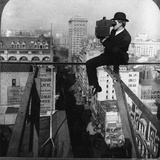 Photographer with Camera, New York Photographic Print