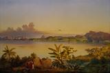 Rio de Janeiro, 1844 Giclee Print by Alessandro Ciccarelli