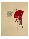 Reciter Giclee Print by El Lissitzky