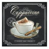 Coffee House Cappuccino Poster von Chad Barrett