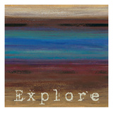 Rainbow Explore Posters by Theodore Matthews