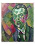 Autoportrait Reproduction procédé giclée par Robert Delaunay