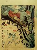 Projet du Programme Pour le 'Théâtre Libre' (Design for Programme of 'Théâtre Libre'), c.1890-91 Posters by Edouard Vuillard