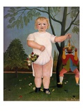 Pour Fêter le Bébé (In Honour of the Baby), 1903 Giclee Print by Henri Rousseau