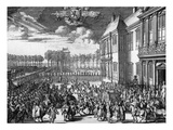 William III in the Netherlands 1689 Giclee Print by Romeyn De Hooghe