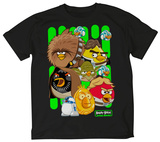 Youth: Angry Birds Star Wars - Green Nest Shirt