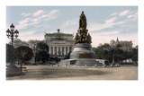 Catherine the Great, St. Petersburg Giclee Print