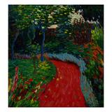 Park Path, c.1905-06 Giclee Print by Alexej Von Jawlensky