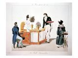 """La Belle Limonadiere"" (The Beautiful Lemonade Seller) Print"