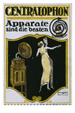 Centralophon, Advertising Stamp, C.1915 Giclee Print