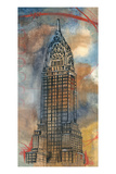 Chrysler Sketch Giclee Print by Edith Lentz