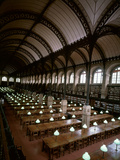 Bibliotheque Sainte-Geneviève, Reading Room, Paris, France Photographic Print