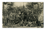 Western Front, Group of German Soldiers During World War I Giclee Print