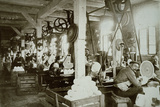 Glassworks, Baruth, C 1910 Reproduction transférée sur toile