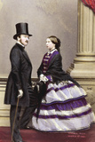 Victoria and Albert, 1861 Photographic Print