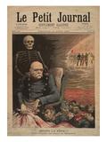 Après La Fête!!!, L'Anniversaire Du Prince De Bismarck, Bismarck's 84th Birthday, Le Petit Journal Giclee Print by Henri Meyer