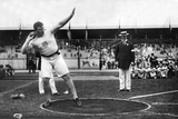 Pat MacDonald at the 1912 Summer Olympics in Stockholm, 1912 Stretched Canvas Print