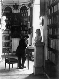 Weimar, Library, Rococo Room, Ca.1904 Photographie