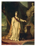 Catherine the Great as Law-Giver, 1783 Posters by Dmitri Grigorievich Leviski
