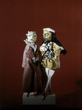 Punch and Judy, Puppets on Sticks Photographic Print
