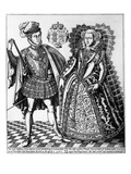 Mary Stuart and Lord Darnley Giclee Print by R. Elstruk