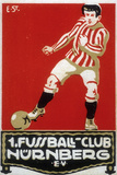 Stamp from Football Club Nuremberg, 1912 Giclee Print