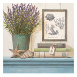 Seaside Lavender Prints by Arnie Fisk