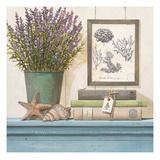 Seaside Lavender Giclee Print by Arnie Fisk