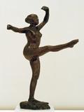 Danseuse, Position De Quatrième Devant Sur La Jambe Gauche Photographic Print by Edgar Degas