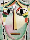 Face of the Saviour, 1919 Prints by Alexej Von Jawlensky