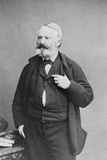 Victor Hugo, 1868 Stretched Canvas Print