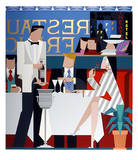 Dinner For Two Collectable Print by Giancarlo Impiglia
