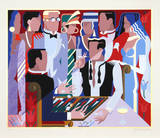 Backgammon Players Collectable Print by Giancarlo Impiglia