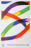 Olympische Spiele Munchen 1972 Collectable Print by Piero D'Orazio