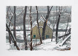 Winter at the Mill Limited Edition by Dennis Goldsborough