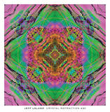 Crystal Refraction 40 Prints by Jeff Leland