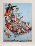 Flying Carpet Collectable Print by Jovan Obican
