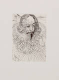 Cervantes Collectable Print by Salvador Dali