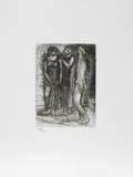 Groupe de Trois Femmes Samletrykk av Pablo Picasso