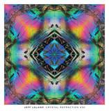 Crystal Refraction #30 Poster af Jeff Leland