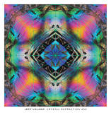 Crystal Refraction 30 Poster by Jeff Leland