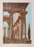 Temple at Paestrum III Eksklusivudgaver af Rudy Pozzatti