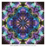 Crystal Refraction 22 Prints by Jeff Leland