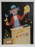 Advocat Collectable Print by Jovan Obican