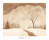 Winter Path Prints by Jeff Friesen