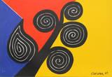Efterår Samlertryk af Alexander Calder